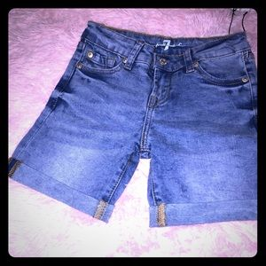 Toddler Girl 7 for all mankind Shorts